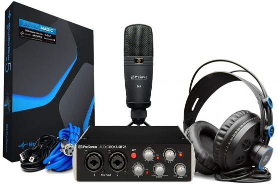 Presonus AudioBox USB 96 Studio 25th Anniversary Edition Bundle: 1