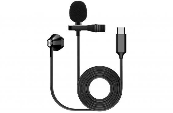 F-Zone KM-05 LAVALIER MICROPHONE W/ EARPHONE (USB Type C): 1