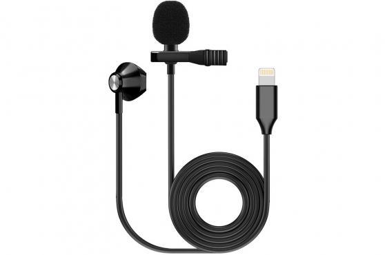 F-Zone KM-06 LAVALIER MICROPHONE W/ EARPHONE (Lighting): 1