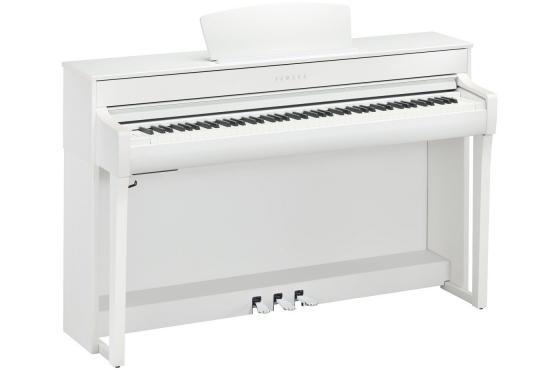 Yamaha Clavinova CLP-735 (White): 1