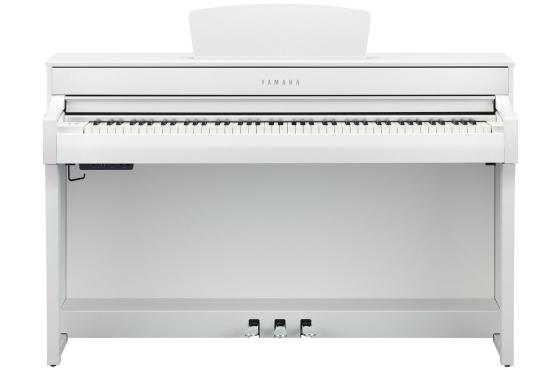 Yamaha Clavinova CLP-735 (White): 2