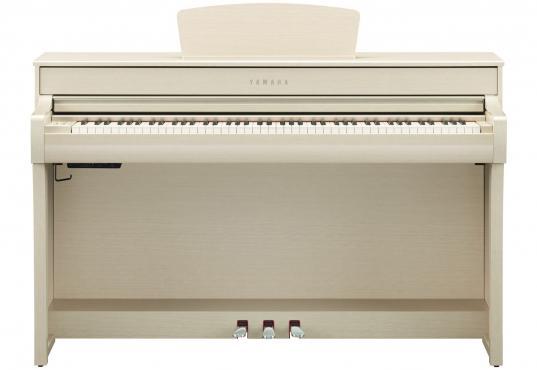 Yamaha Clavinova CLP-735 (White Ash): 2
