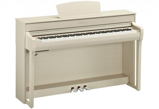 Yamaha Clavinova CLP-735 (White Ash): 1