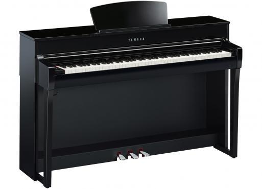 Yamaha Clavinova CLP-735 (Polished Ebony): 1