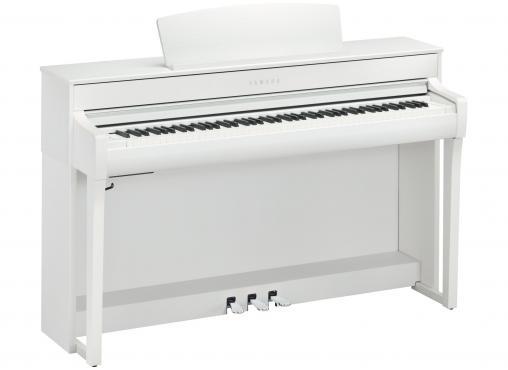 Yamaha Clavinova CLP-745 (White): 1