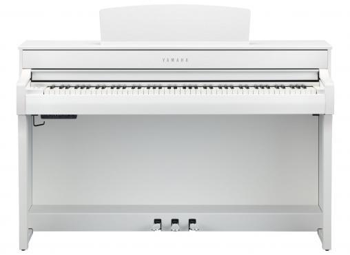 Yamaha Clavinova CLP-745 (White): 2