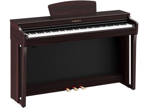 Yamaha Clavinova CLP-725 (Dark Rosewood): 1