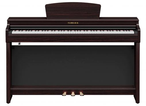 Yamaha Clavinova CLP-725 (Dark Rosewood): 2