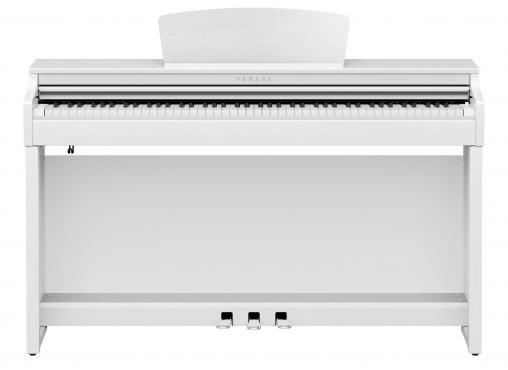 Yamaha Clavinova CLP-725 (White): 2