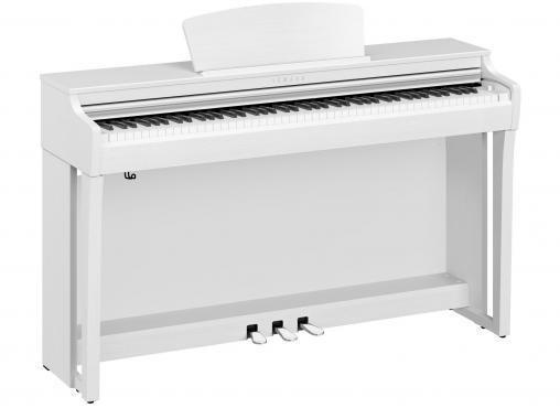 Yamaha Clavinova CLP-725 (White): 1
