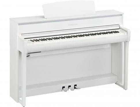 Yamaha Clavinova CLP-775 (White): 1