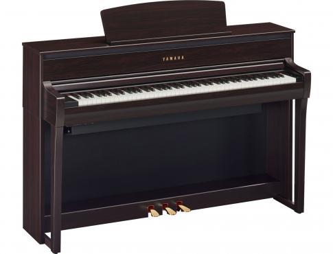 Yamaha Clavinova CLP-775 (Dark Rosewood): 1