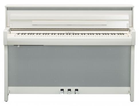 Yamaha Clavinova CLP-785 (Polished White): 2