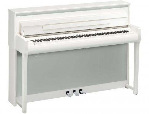 Yamaha Clavinova CLP-785 (Polished White): 1