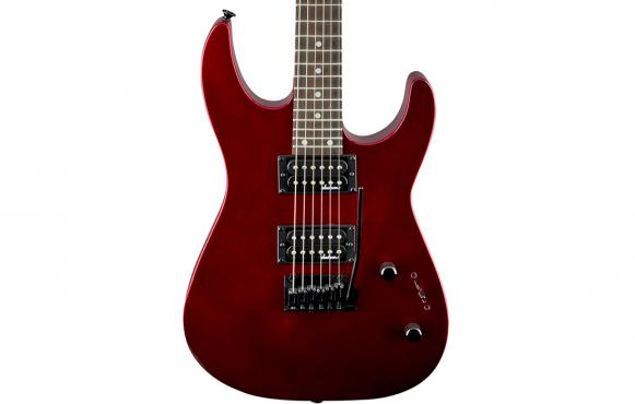 Jackson JS12 DINKY AH METALLIC RED: 4