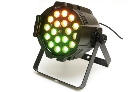 Star Lighting TSA 106-18/18 LED ZOOM PAR RGBWA+UV: 1