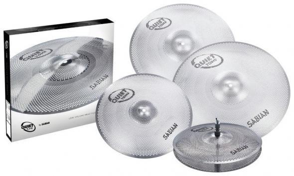 Sabian QTPC504 Quiet Tone Practice Cymbals Set: 1