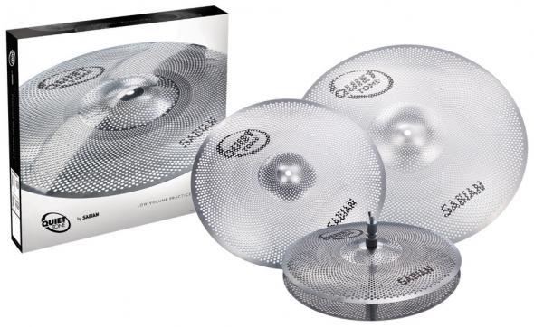 Sabian QTPC503 Quiet Tone Practice Cymbals Set: 1