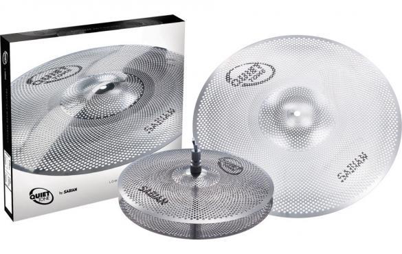 Sabian QTPC501 Quiet Tone Practice Cymbals Set: 1