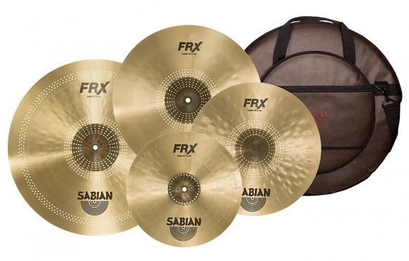Sabian FRX Prepack Set w/Bag: 1