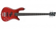 Warwick RockBass Streamer LX 4 (Metallic Red CHR): 1