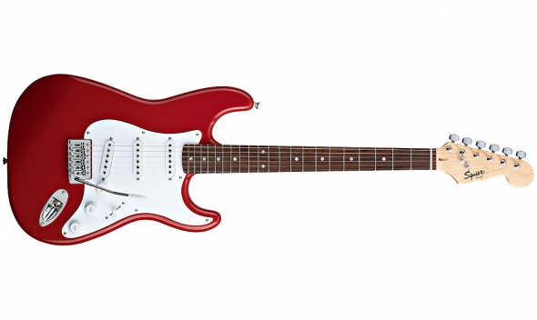 Squier by Fender Bullet Stratocaster RW FRD: 1