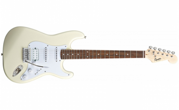 Squier by Fender Bullet Stratocaster ARCTIC WHITE: 1
