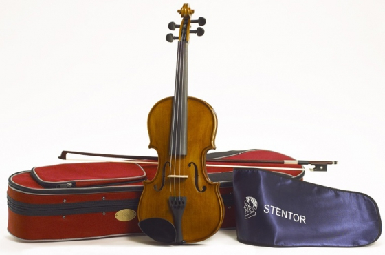 Stentor 1500/A Student II Violin outfit 4/4: 2