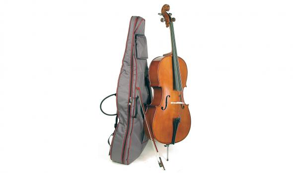 Stentor 1108/E Student II Cello OUTFIT 1/2: 2