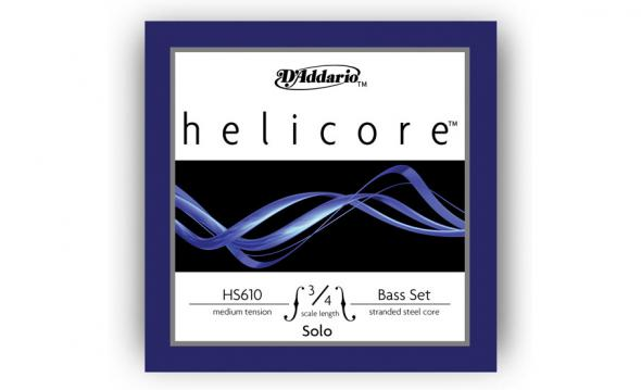 D`Addario HS610 3/4M Helicore Solo 3/4M: 1