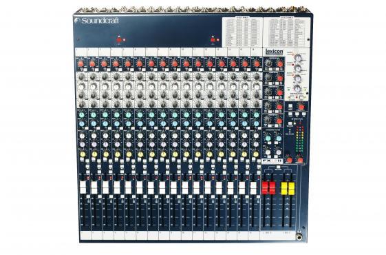Soundcraft FX16II: 2